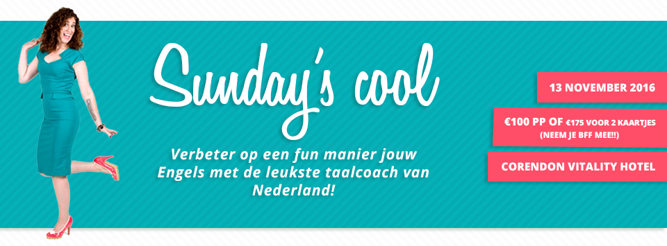 Sunday's cool 13 november