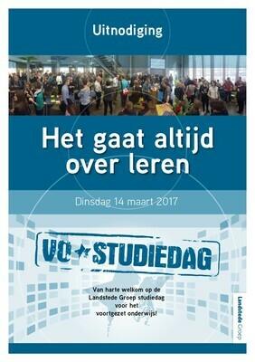 Landstede VO studiedag 2017