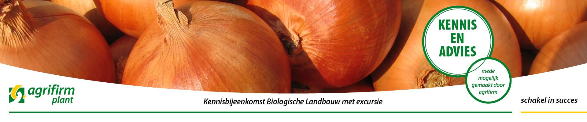 Kennisbijeenkomst Biologische Landbouw met excursie