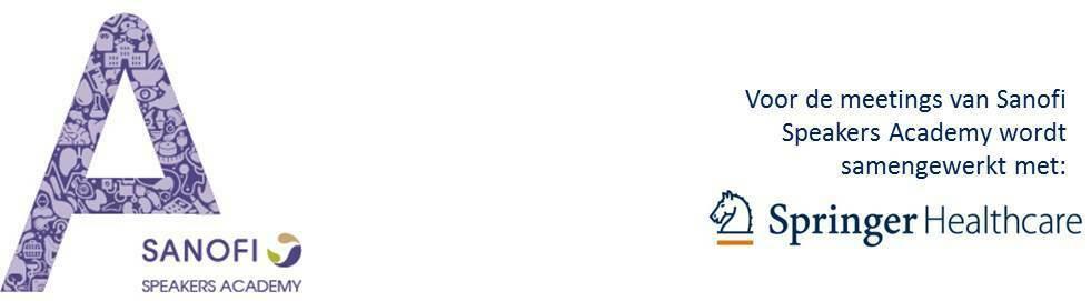Expertmeeting Sanofi Speakers Academy Internisten 23012018