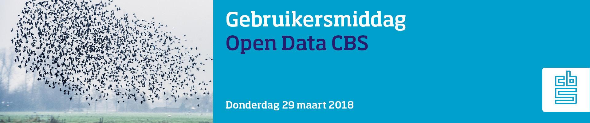 Gebruikersmiddag Open Data CBS