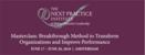 NPI Masterclass 17-20 June 2018